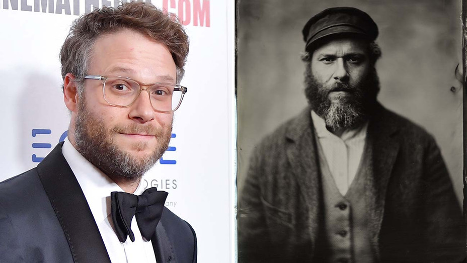 Seth Rogen and An American Pickle  Split-H 2020