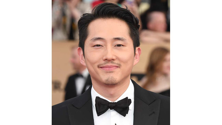 Steven Yeun attends the 23rd Annual Screen Actors Guild Awards - Getty Publicity-H 2020