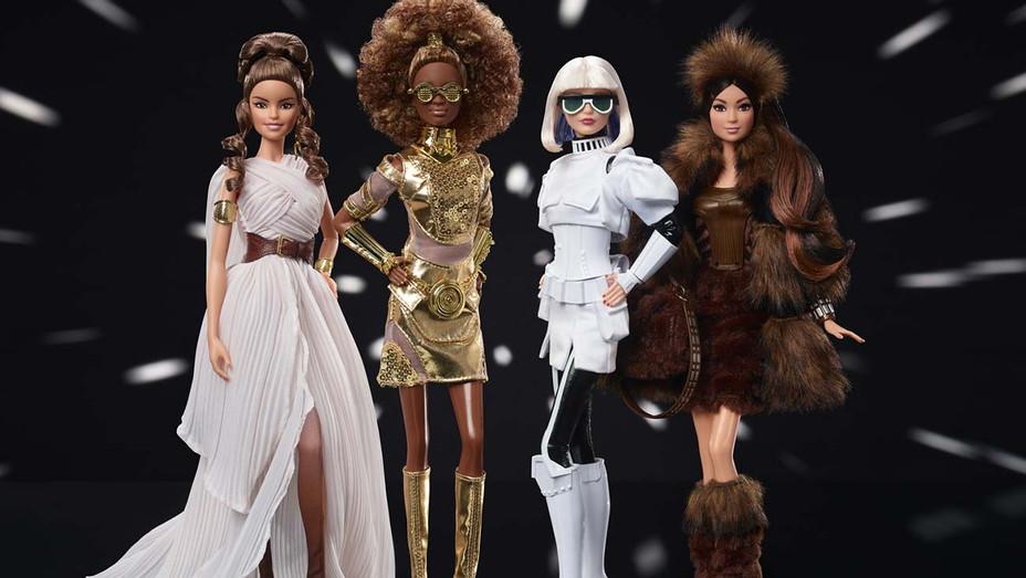 Star Wars Barbies Wave II - Mattel Publicity-H 2020