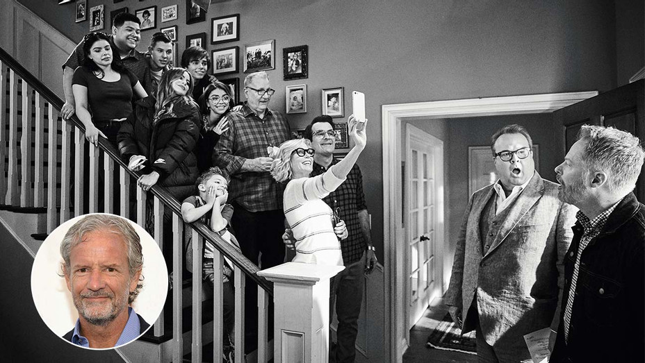 The Business - Modern Family and CHRISTOPHER LLOYD inset- Publicity_H 2020