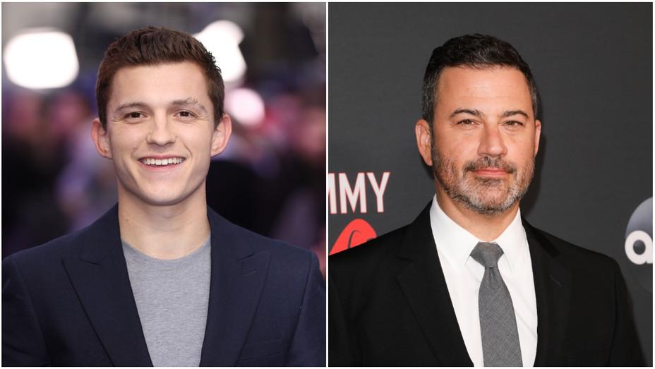 Tom Holland and Jimmy Kimmel Split - H - 2020