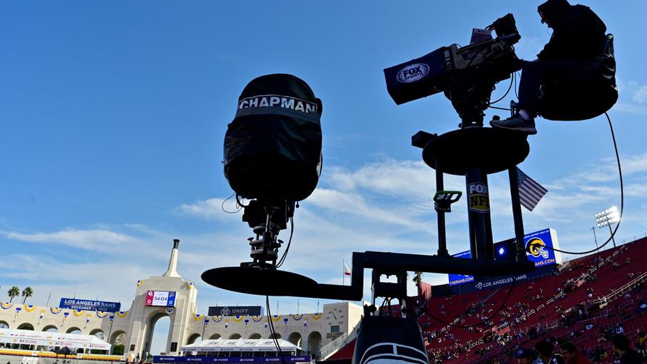 TV Crew Cameraman Dec 2019 NFL Game