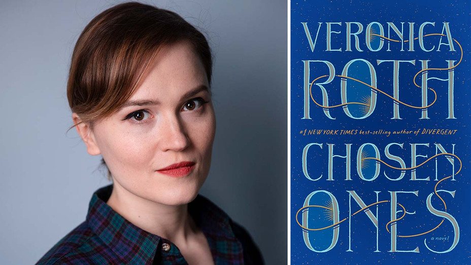 Veronica Roth, cover art for The Chosen Ones- Publicity - Split - h 2020