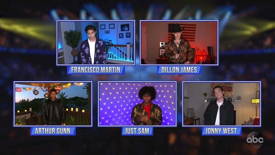 AMERICAN IDOL – 316 -Grand Finale - ARTHUR GUNN, FRANCISCO MARTIN, JUST SAM, DILLON JAMES, JONNY WEST-H 2020