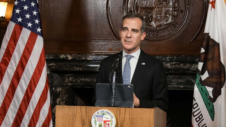 Eric Garcetti - Mayor of Los Angeles - Publicity 4 -H 2020