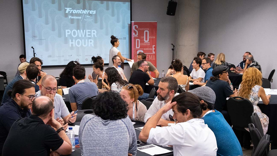 Frontieres Co-Production Market - Publicity-H 2020