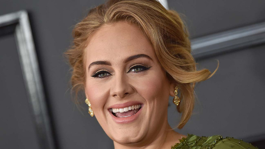 Adele at the 59th Grammy Awards in 2017 - H - 2020