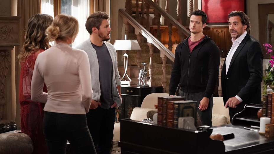 THE BOLD AND THE BEAUTIFUL - Katherine Kelly Lang, Scott Clifton, Matthew Atkinson and Thorsten Kaye-H 2020