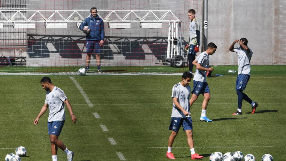 German Soccer Bundesliga COVID-19 Training April 6 2020