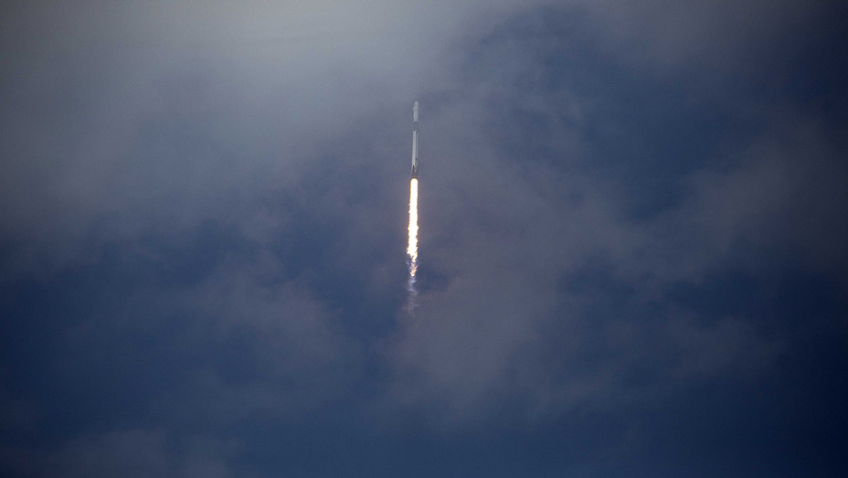 Elon Musk's SpaceX Falcon 9 Rocket - H - 2020