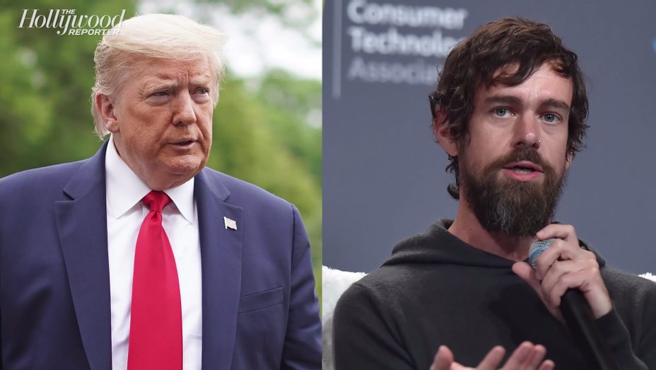 Twitter CEO Jack Dorsey Responds to Fact Check of Trump's Tweets   THR News