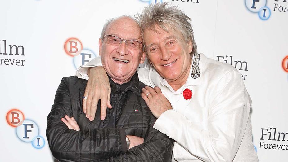Francis Megahy (L) and Sir Rod Stewart - Getty - H 2020