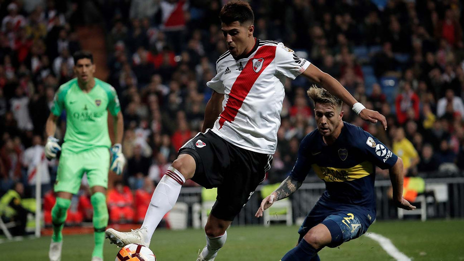 ONE TIME USE ONLY -Copa Libertadores soccer match -Madrid December 09, 2018-Getty-H 2020