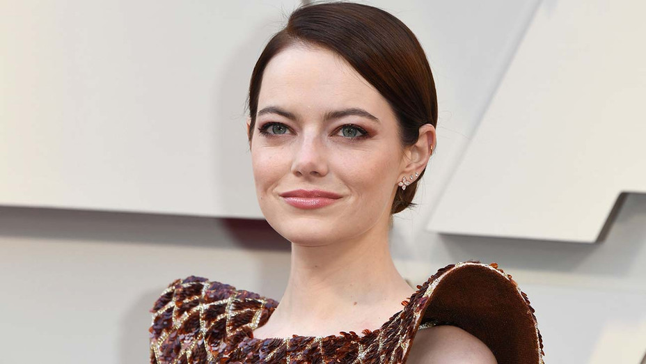Emma Stone arrives for the 91st Annual Academy Awards - getty -H 2020