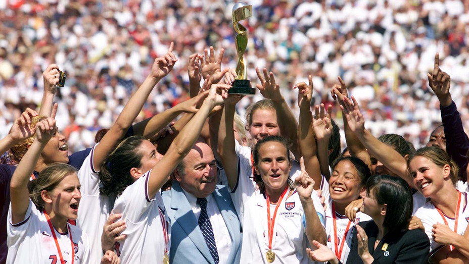 1999 Women's World Cup 10 July 1999 at the Rose Bowl in Pasadena - Getty-H 2020