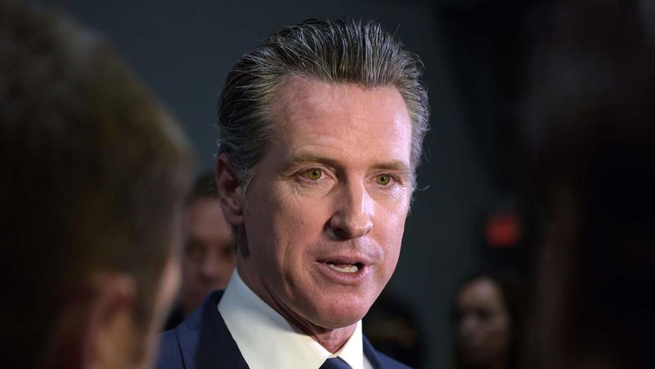California Governor Gavin Newsom - Getty -H 2020