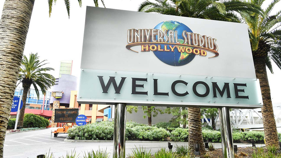 Universal Studios Theme Park is closed as the coronavirus continues -March 14, 2020- Getty-H 2020
