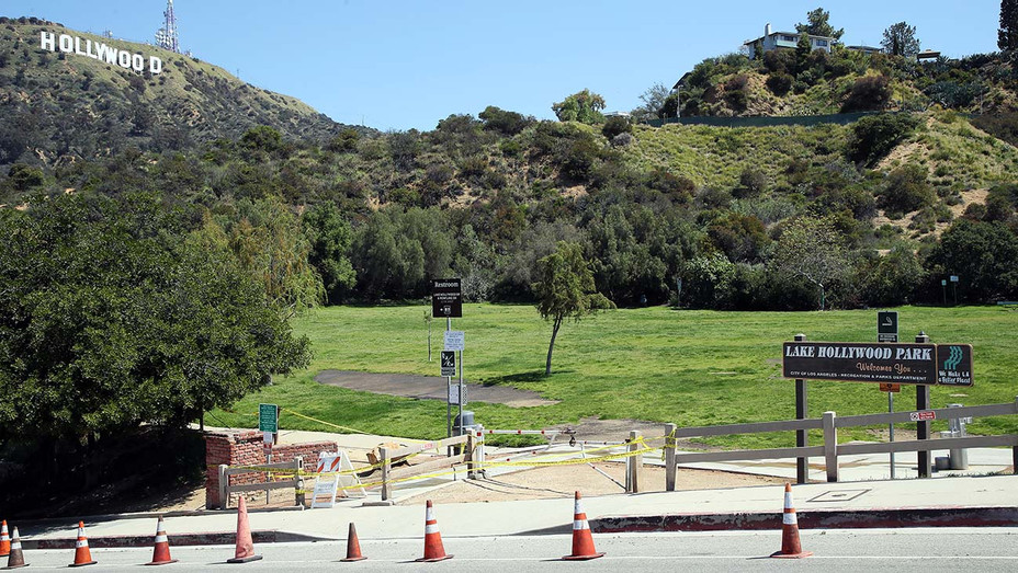 Lake Hollywood Park - Closed - April 14, 2020- Getty -H 2020
