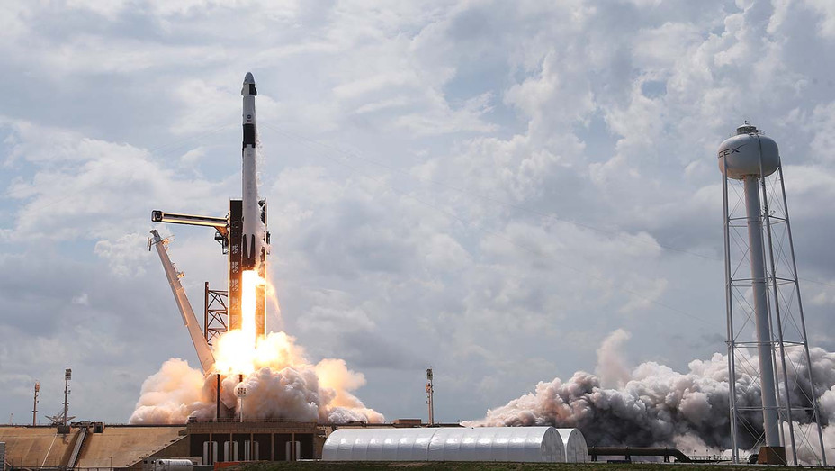 SpaceX Falcon-9 Rocket And Crew Dragon Capsule Launches — Getty — H 2020