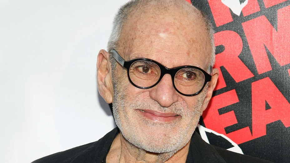 Larry Kramer attends the Broadway opening night of The Normal Heart - Getty -H 2020