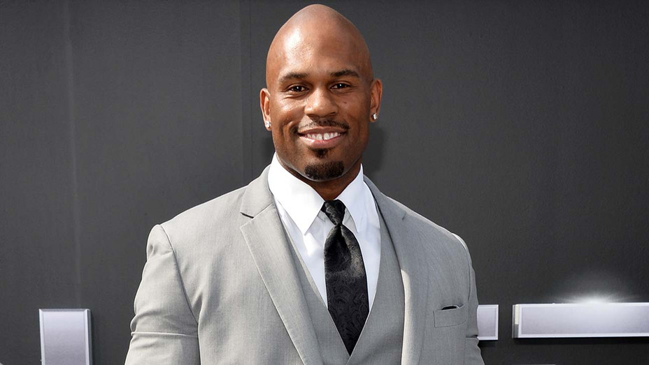Wrestler Shad Gaspard arrives at the Los Angeles premiere of Terminator Genisys - Getty-H 2020