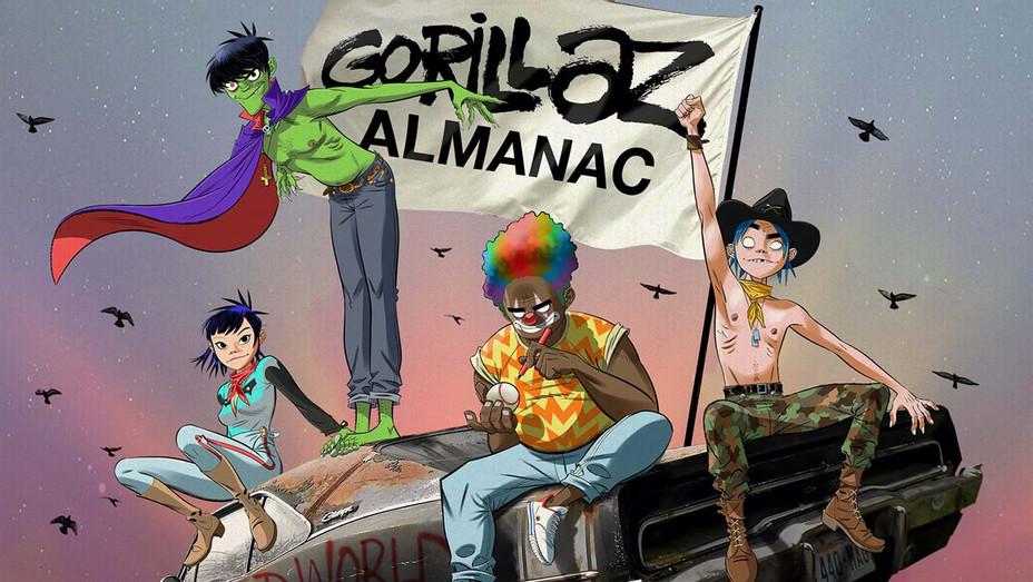 Gorillaz Almanac - Publicity - H 2020