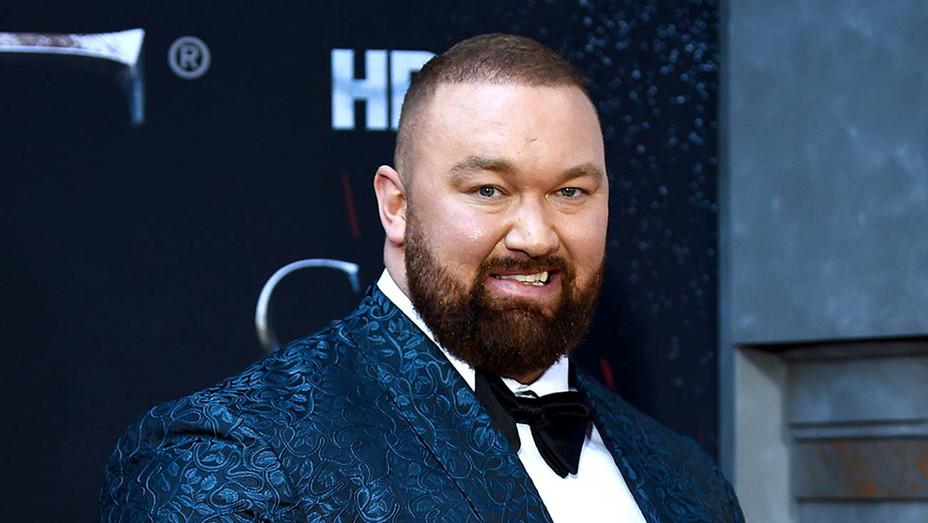 "Hafþor Julius Bjornsson attends the ""Game Of Thrones"" Season 8 Premiere - Getty - H 2020"