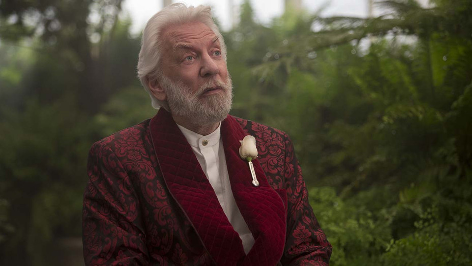 Donald Sutherland in 'The Hunger Games: Mockingjay Part 2' — Photofest — H 2020
