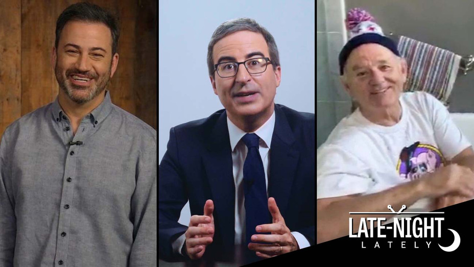 Late Night Lately May 16 graphic - Kimmel - John Oliver - Bill Murray on Kimmel - H 2020