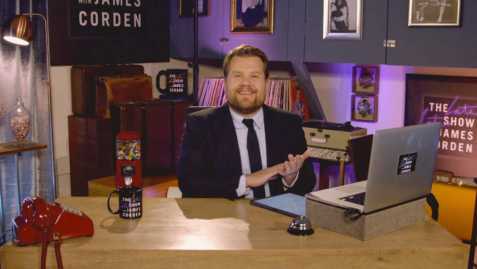 THE LATE LATE SHOW WITH JAMES CORDEN - May 7, 202 Screen grab - Publicity H 2020