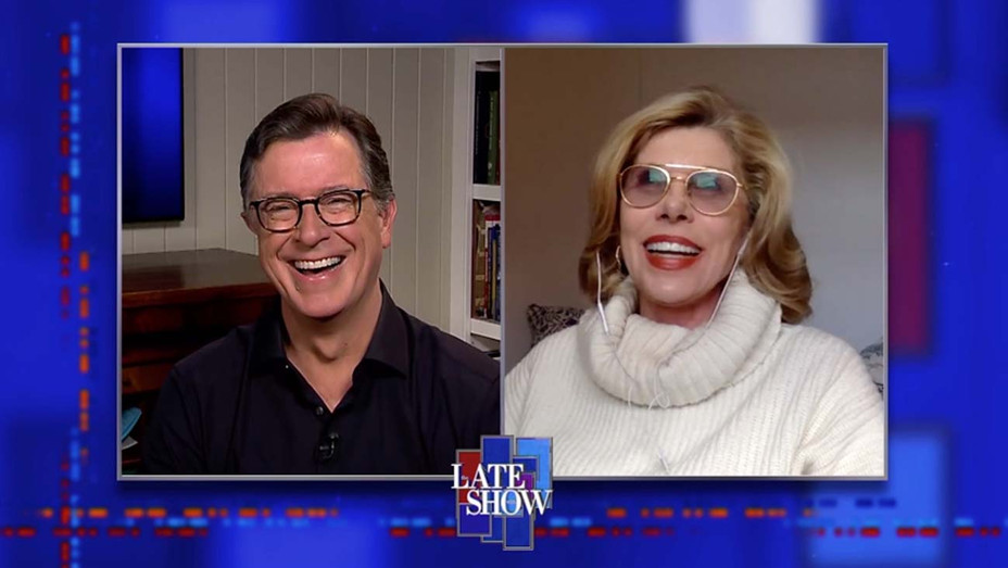 Christine Baranski on The Late Show - CBS Publicity - H 2020