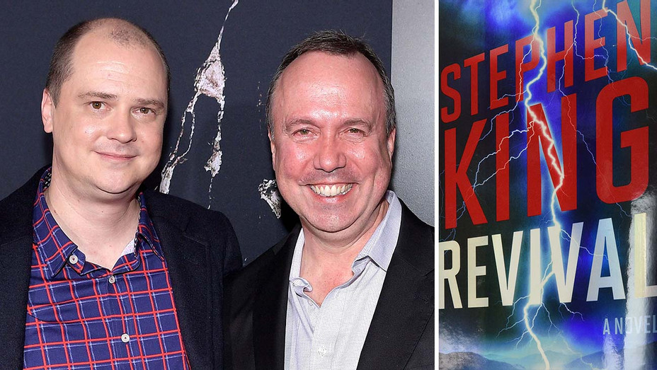 Mike Flanagan and Trevor Macy- book cover for Revival - Getty - Publicity - Split - H 2020