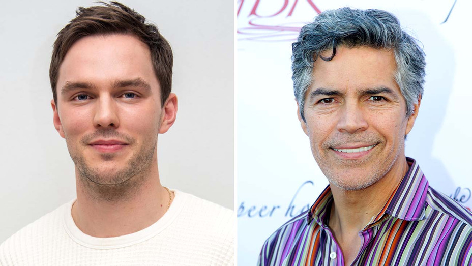 Nicholas Hoult and Esai Morales -Getty- Split-H 2020