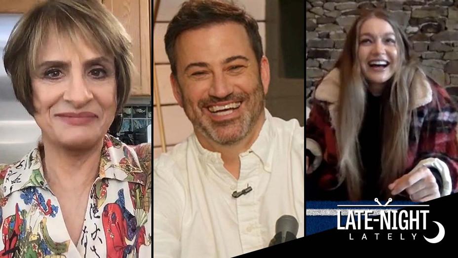 Patti Lupone -Jimmy Kimmel -Gigi Hadid -Split_h 2020