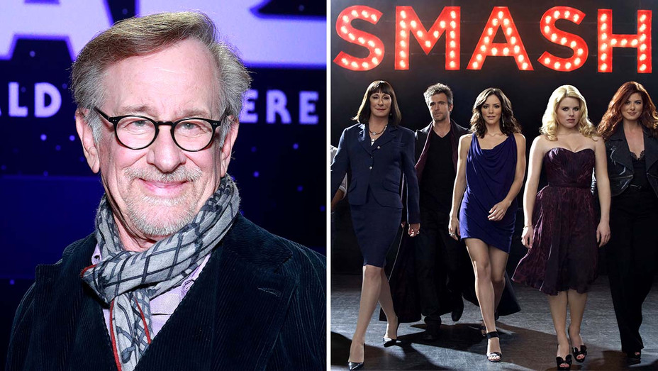 Steven Spielberg and the NBC show Smash- Getty - Photofest - Split - H 2020