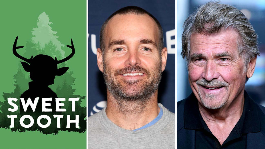 Sweet Tooth - Will Forte and James Brolin - Getty - Split - H 2020