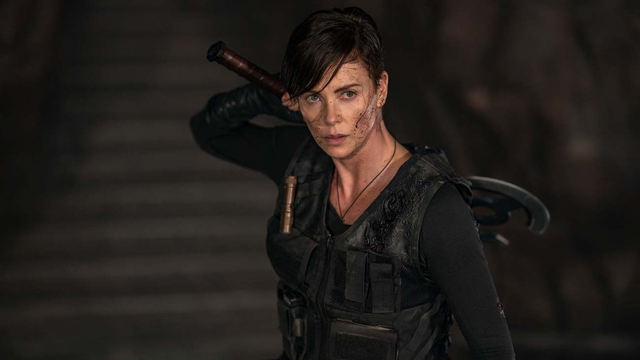 The Old Guard Still 1 -Charlize Theron in- Netflix-H 2020