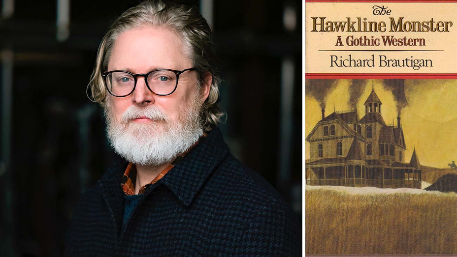 Tony McNamara, cover art for Hawkline Monster Book Cover-Publicity-H 2020