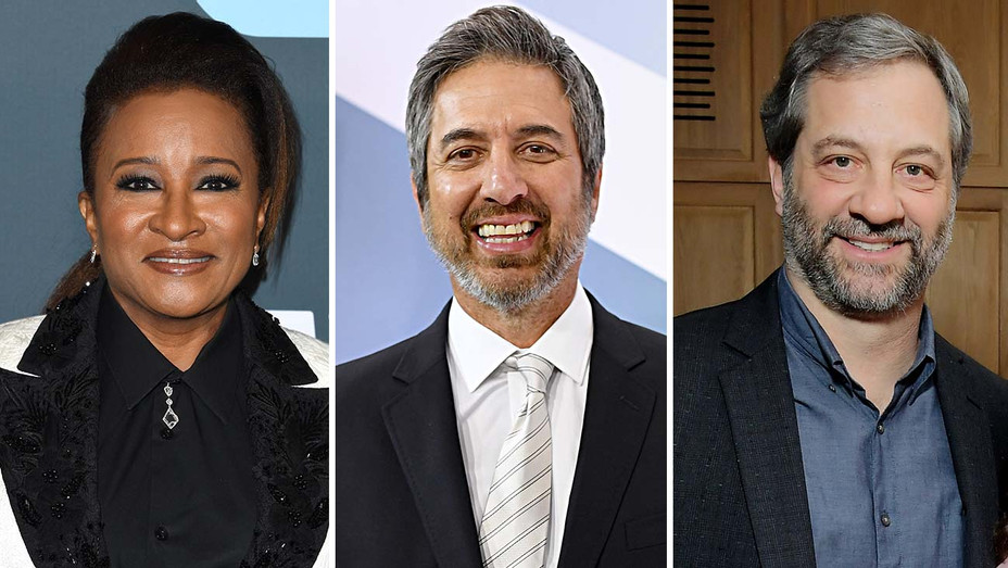 Wanda Sykes, Judd Apatow and Ray Romano - Split -Getty-H 2020
