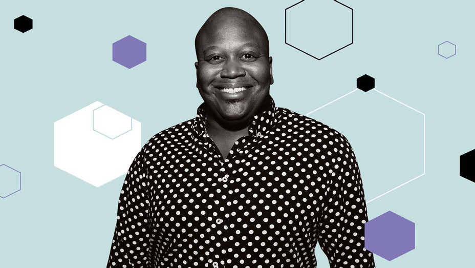 Tituss Burgess Reflects on Filming Interactive Kimmy Schmidt Special - Graphic - H 2020