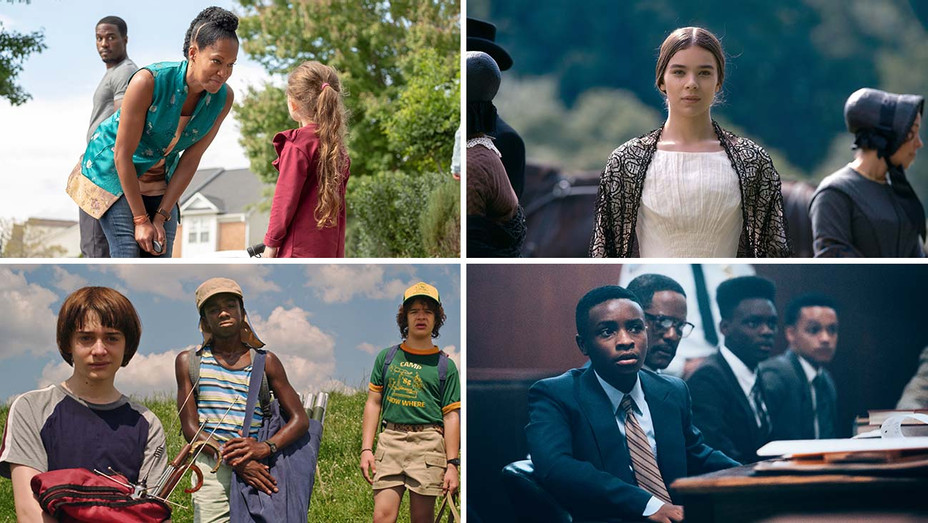 Watchmen, Dickinson, Stranger Things and When They See Us - Split - H 2020