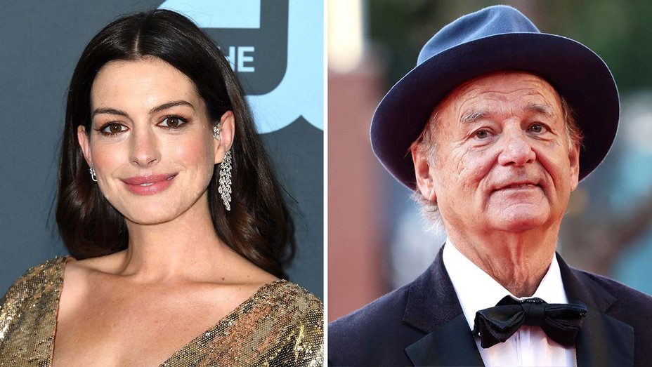 Anne Hathaway and Bill Murray - Getty - Split - H 2020