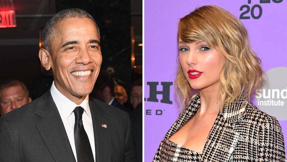 Barack Obama - Taylor Swift - Getty - Split - H 2020