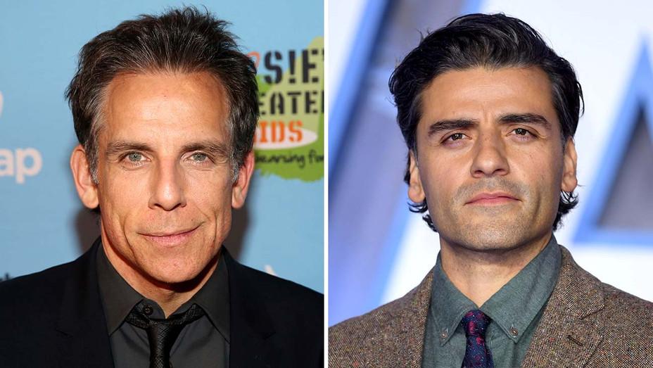 Ben Stiller and Oscar Isaac - Getty - Split - H 2020