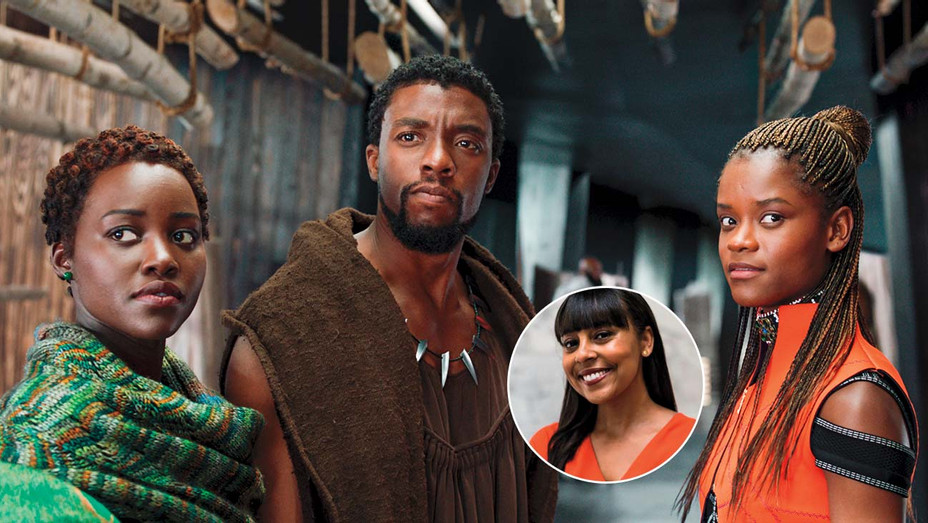 Black Panther still and inset of Thomas- H 2020