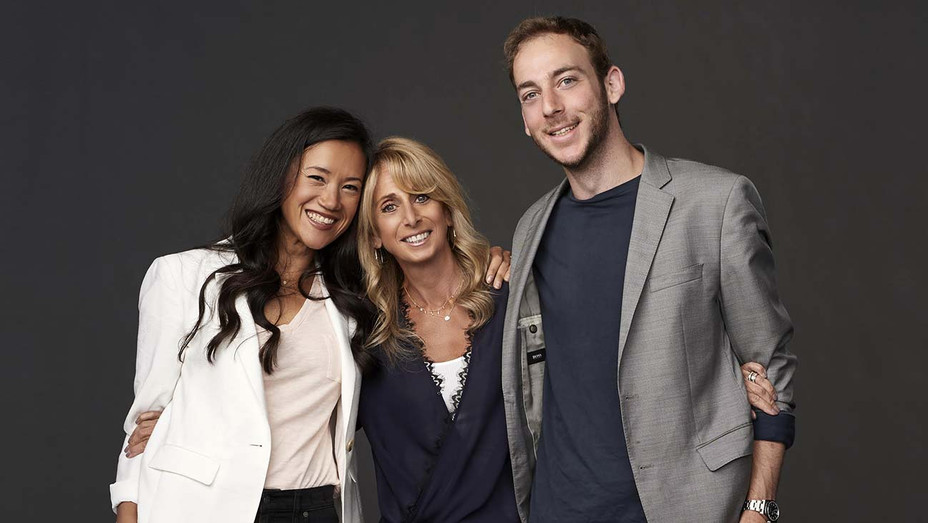Bonnie Hammer and her two children, Kimae Heussner and Jesse Heussner - Publicity - H 2020