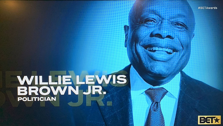 Willie Brown BET Awards screenshot - H 2020
