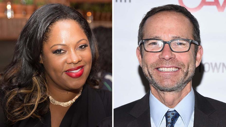 CAA's Lisa Joseph Metelus and Richard Lovett - Getty - Split - H 2020