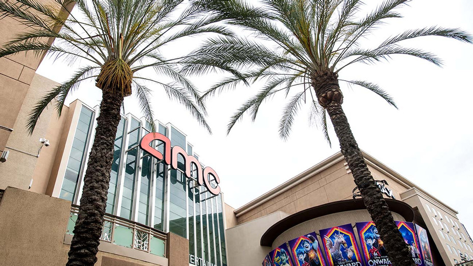 closed AMC Theater- , May 12, 2020, in Burbank, California.-Getty - H 2020