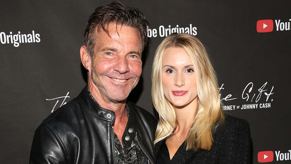 Dennis Quaid and Laura Savoie- Getty - H 2020